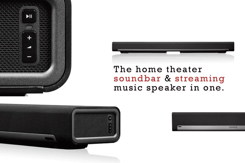 Sonos Playbar and Home Sound System.